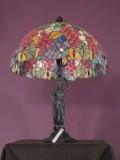 Lampka witrażowa w1-002